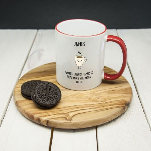 "Personalised ""How Much You Mean To Me"" Mug"